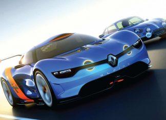 Renault Alpine A110-50 concept car