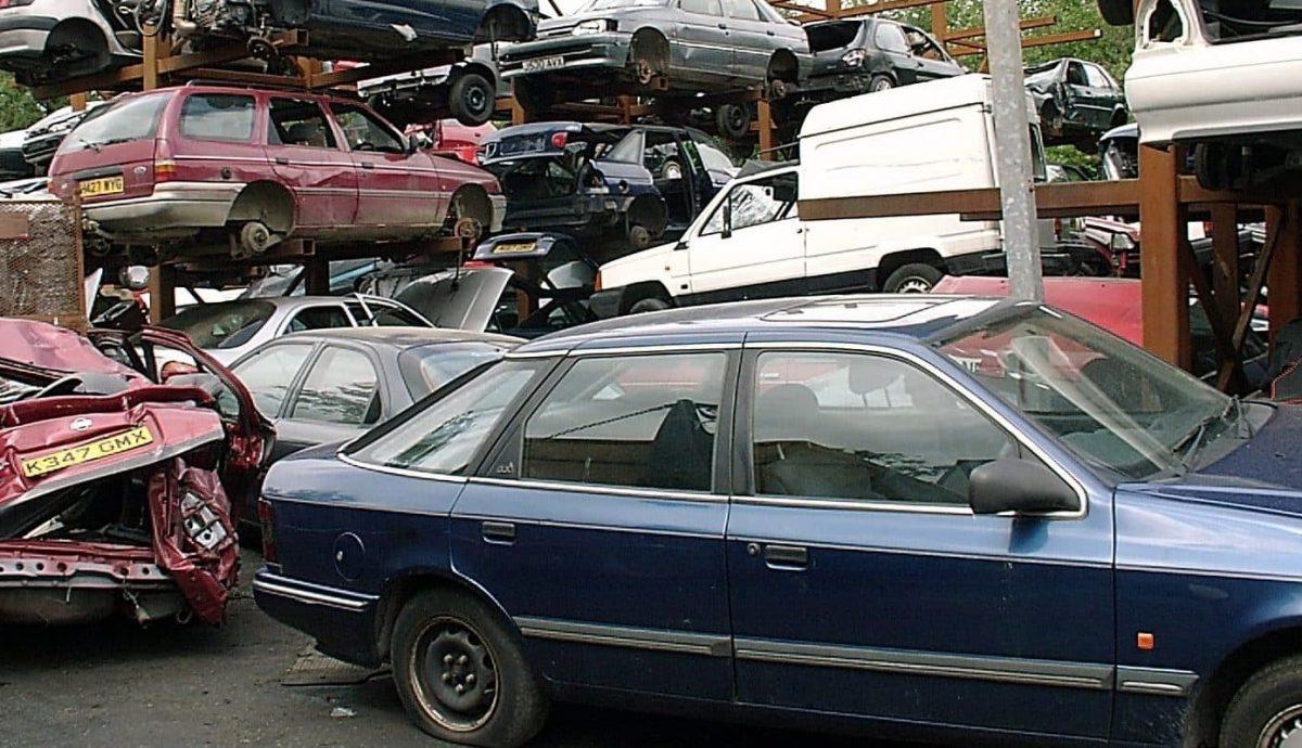 Vehicle scrap yard (The Car Expert)