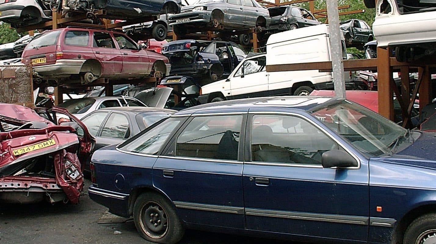 Make money from your dead car - secrets of the scrap yard | The ...
