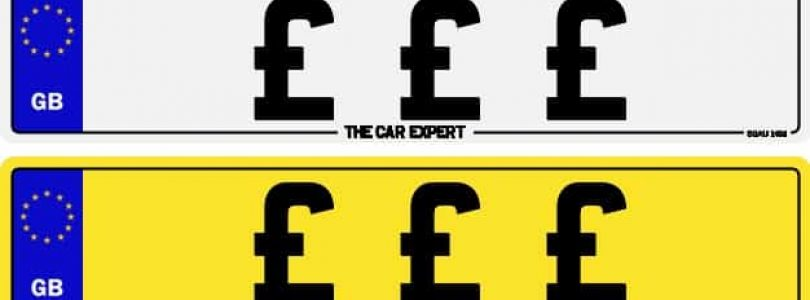 Most expensive number plates