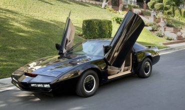 David Hassellhoff has a replica Knight Rider KITT car