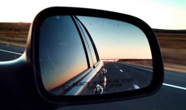 Position your mirrors correctly to avoid a blind spot