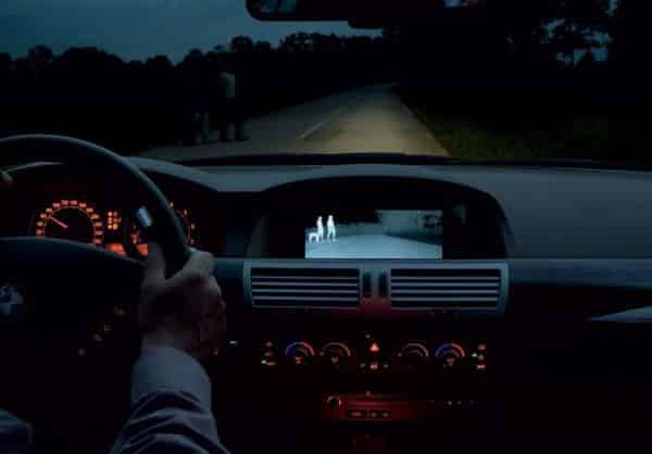 Thermal Imaging and Night Vision in Cars
