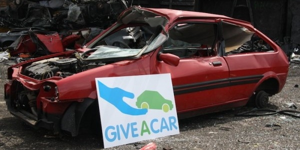 Scrapping your old car for charity with Giveacar