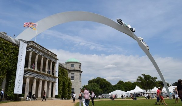 Mercedes-Benz central feature at the 2014 Goodwood Festival of Speed