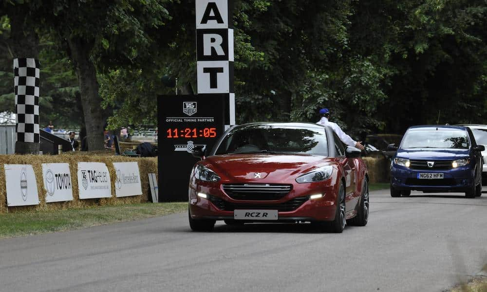 Peugeot RCZ-R at the 2014 Goodwood Festival of Speed and Moving Motor Show
