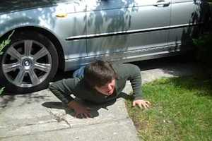 Check under your car for children (Freaky road laws - The Car Expert)