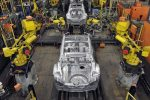 Nissan's factory in Sunderland produces half a million British cars per year