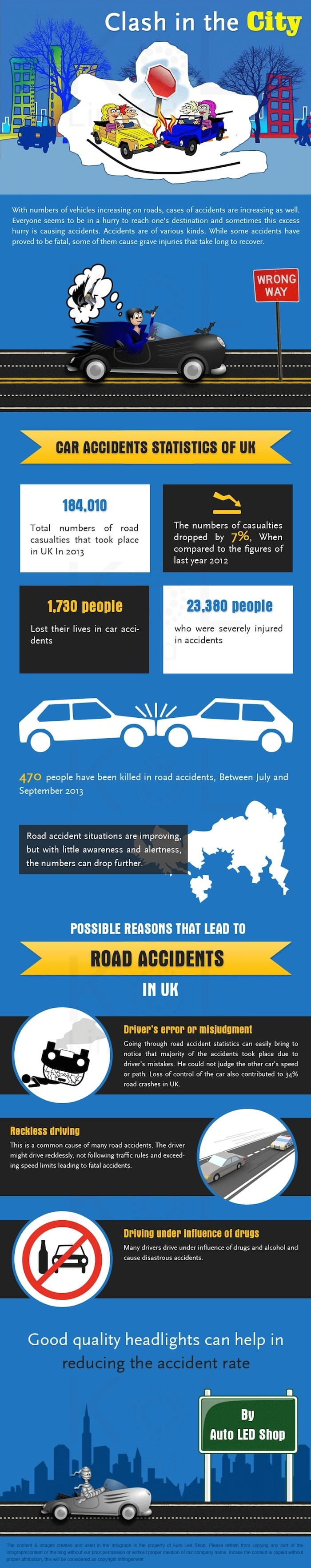 UK car accident facts and figures