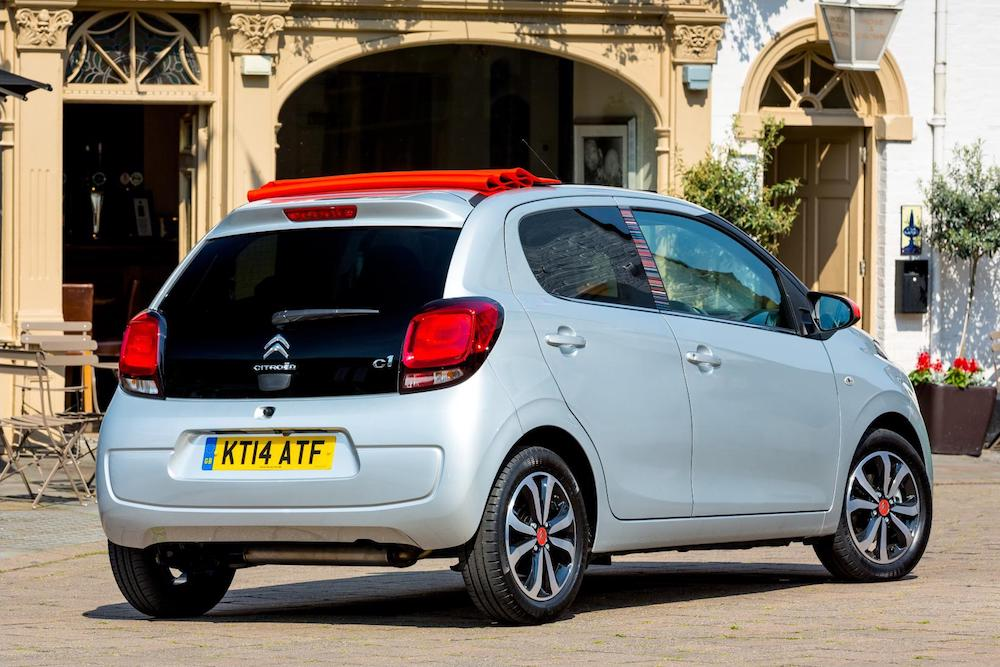 Citroën C1 Airscape review 1
