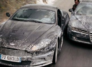 Opening car chase sequence from Quantum of Solace