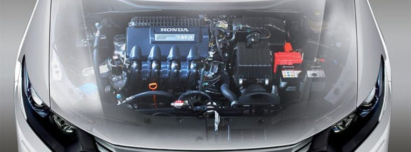 Honda Accord bonnet x-ray