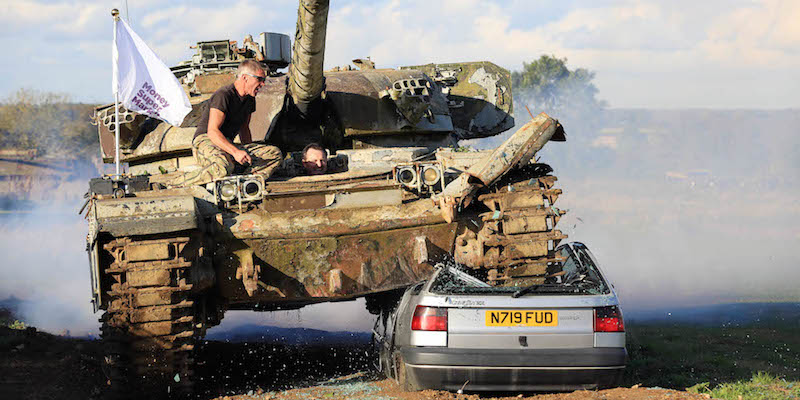 Driving A Tank A Crushing Experience The Car Expert
