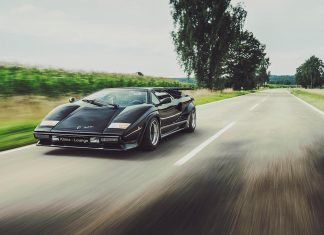 Lamborghini Countach - cars of the 80s