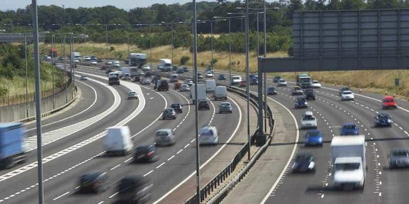 Motorway traffic