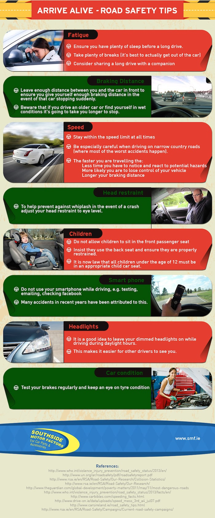 Road accident infographic - Part 3