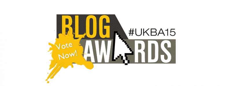 UK Blog Awards 2015 - vote for The Car Expert now!