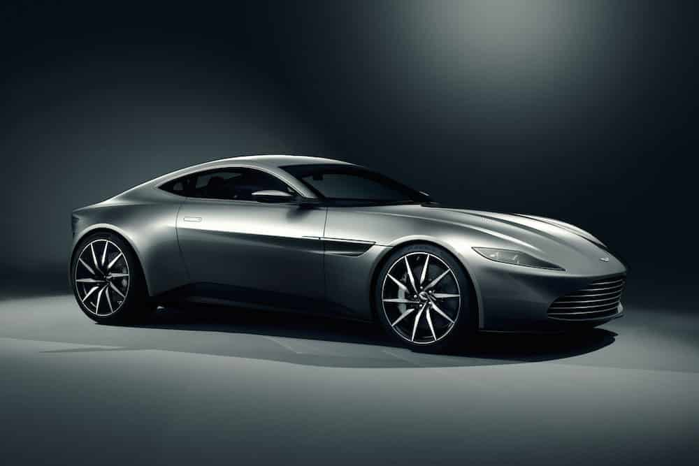 The Aston Martin DB10 concept car will be driven by 007 James Bond in Spectre (The Car Expert, 2014)