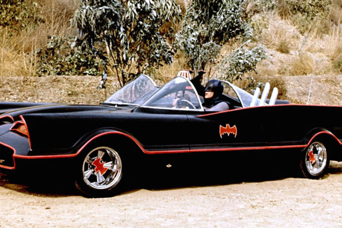 Batmobile from the 1966 TV series Batman