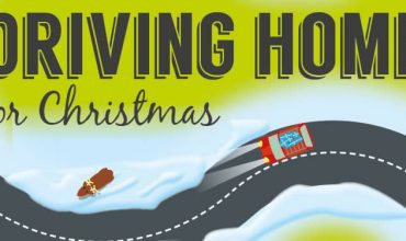 Driving home for Christmas infographic