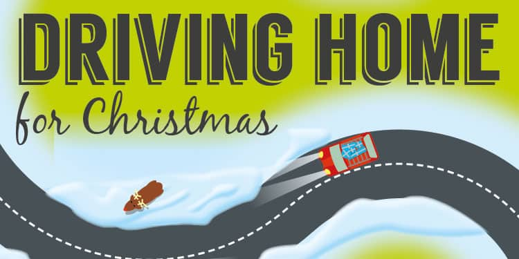 Driving home for Christmas?