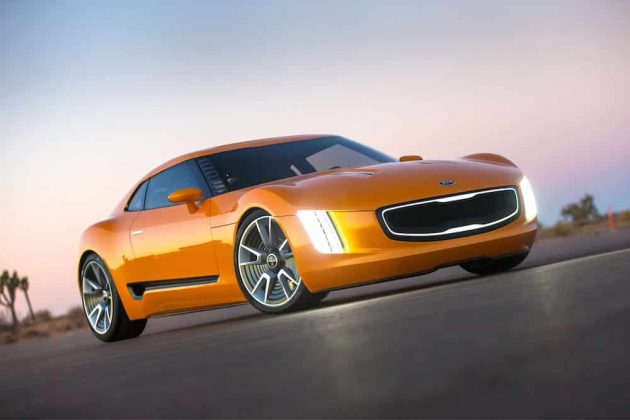 Kia GT4 Stinger concept car 01 (The Car Expert, 2014)