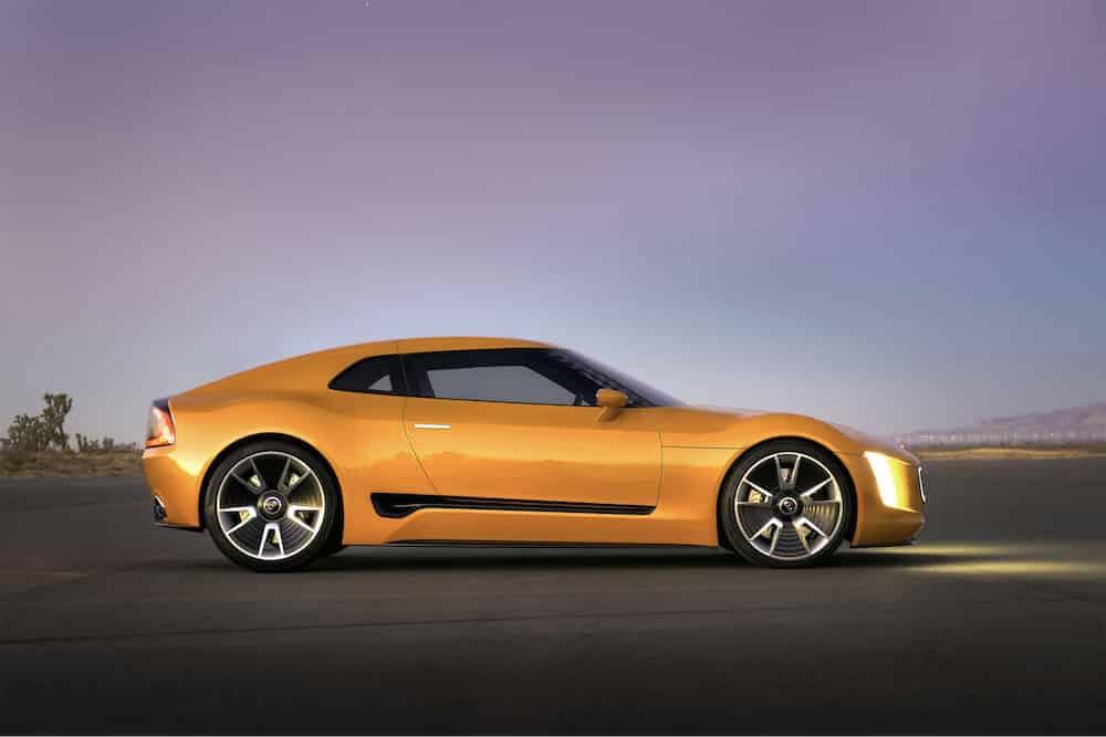 Kia GT4 Stinger concept car 02 (The Car Expert, 2014)
