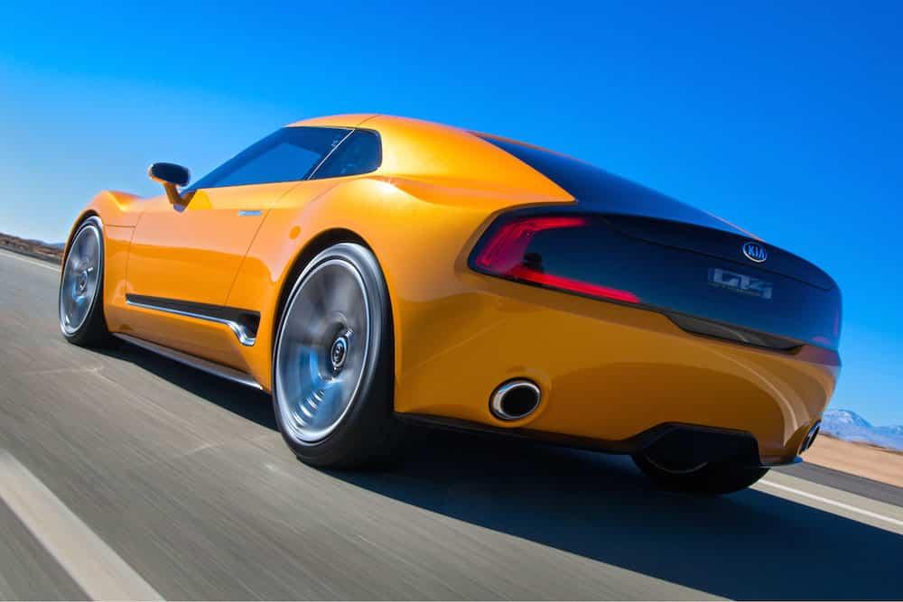Kia GT4 Stinger concept car 03 (The Car Expert, 2014)