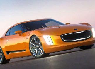 Kia GT4 Stinger concept car