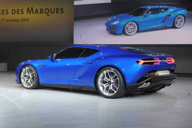 Lamborghini Asterion concept car 03
