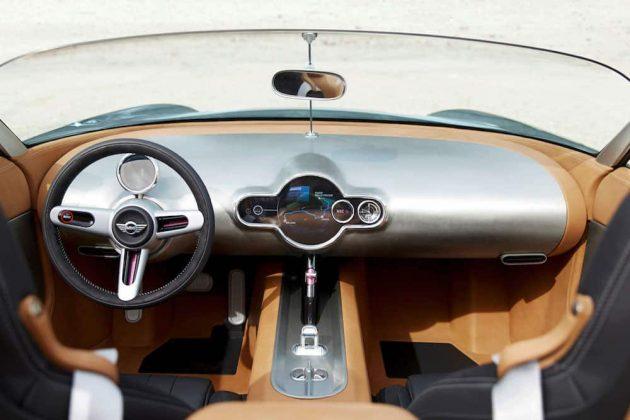 MINI Superleggera Vision 04 interior (The Car Expert, 2014)