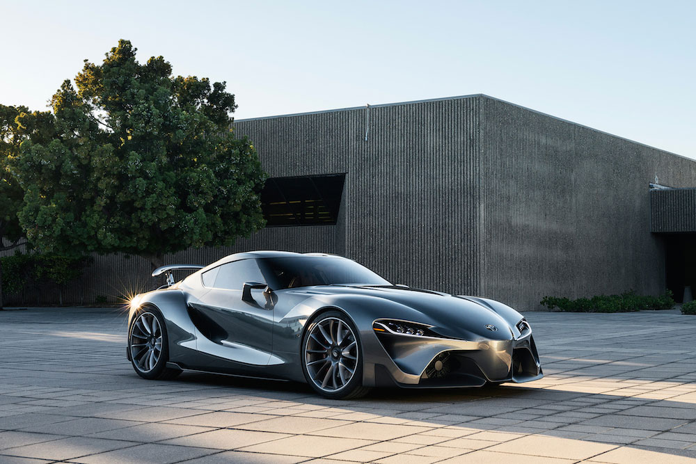 Toyota FT-1 concept car 01 (The Car Expert, 2014)