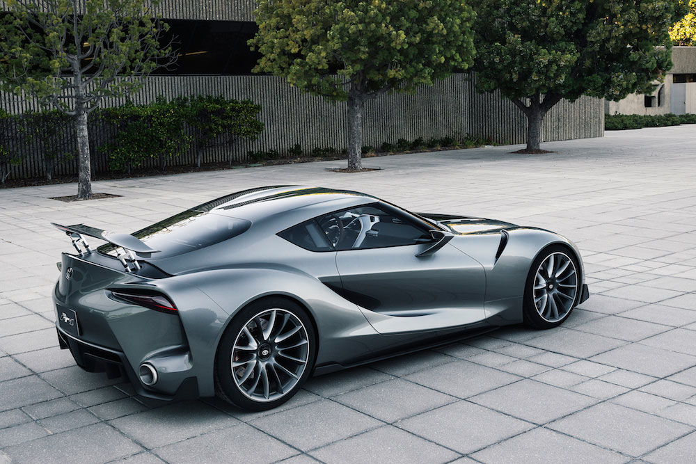 Toyota FT-1 concept car 02 (The Car Expert, 2014)