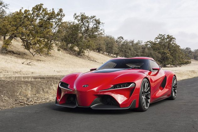 Toyota FT-1 concept car 03 (The Car Expert, 2014)