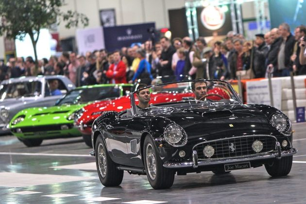 London Classic Car Show 2015, Ferrari 250 California