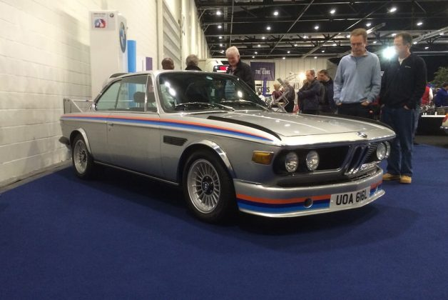 "London Classic Car Show 2015, BMW 3.0 CSL (aka ""Batmobile"")"