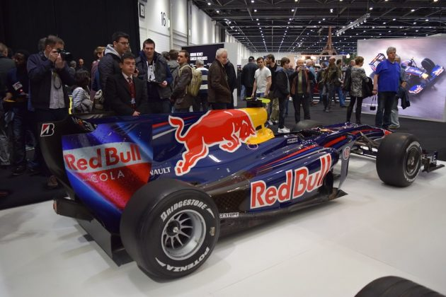 London Classic Car Show 2015, Red Bull RB5