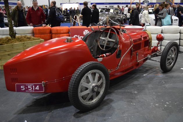 London Classic Car Show 2015, Bugatti Type 35B