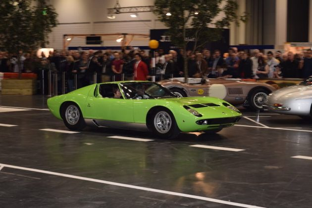 London Classic Car Show 2015, Lamborghini Muira on the Grand Avenue