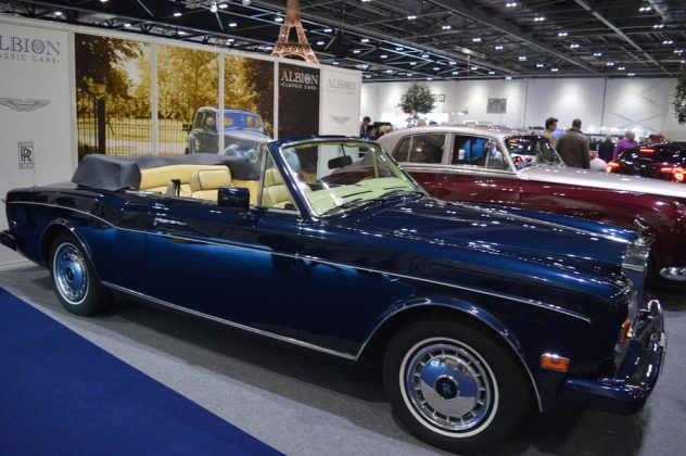 Rolls-Royce Corniche at the 2015 London Classic Car Show