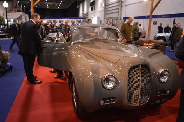 A beautiful custom Bentley at the 2015 London Classic Car Show