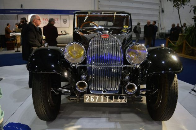 Bugatti Type 57 at the 2015 London Classic Car Show