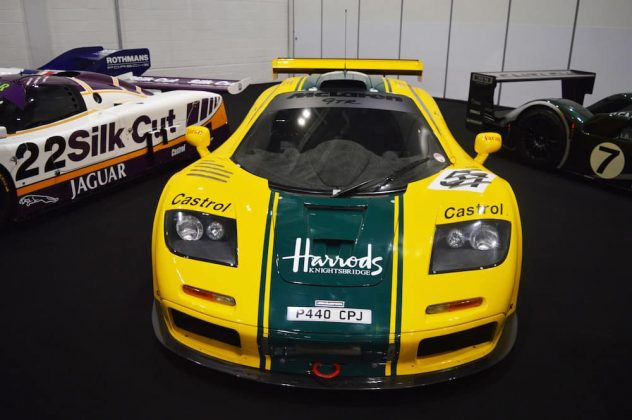 The Harrods McLaren F1 GTR which finished on the podium at the 1995 Le Mans 24 Hours