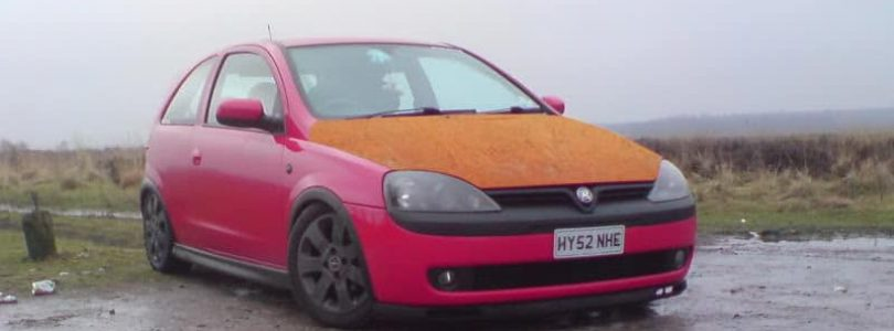 If your Vauxhall Corsa looks like this then you won't get a good part-exchange price...