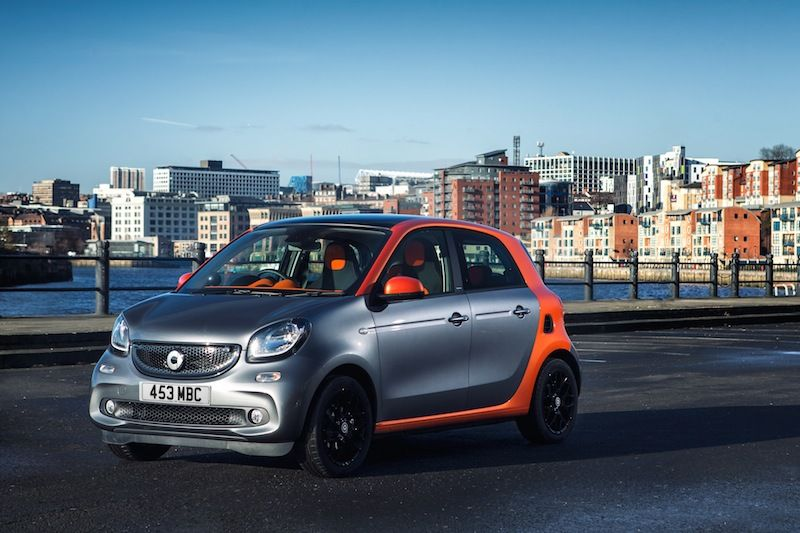 The all-new smart forfour