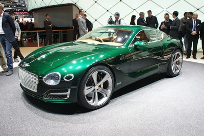 Bentley EXP 10 Speed 6, Geneva Motor Show 2015