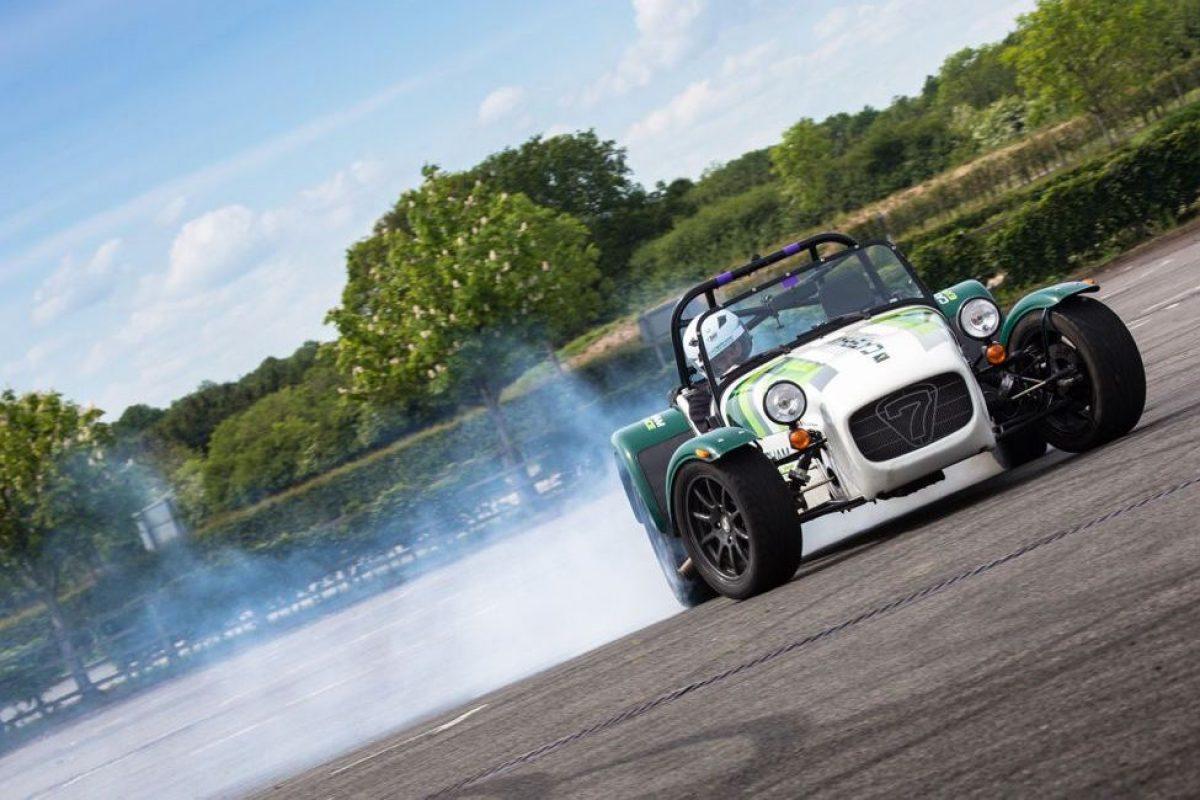 Caterham Drift Champion drifting experience