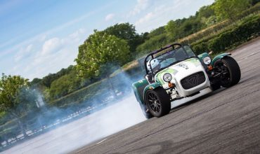 Caterham Drift Champion drifting experience