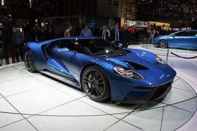 Ford GT, Geneva Motor Show 2015