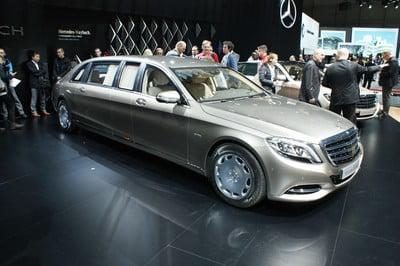 Mercedes-Maybach Pullman, Geneva Motor Show 2015